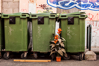 Trash Cans - p1291m1465786 by Marcus Bastel