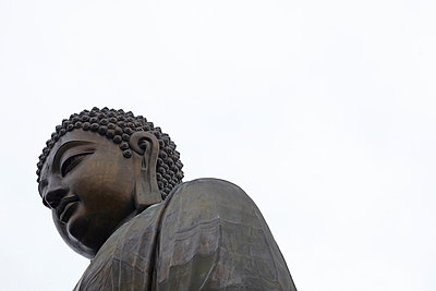 Tian tan buddha, hong kong, china - p924m699212f by Ryan Benyi Photography