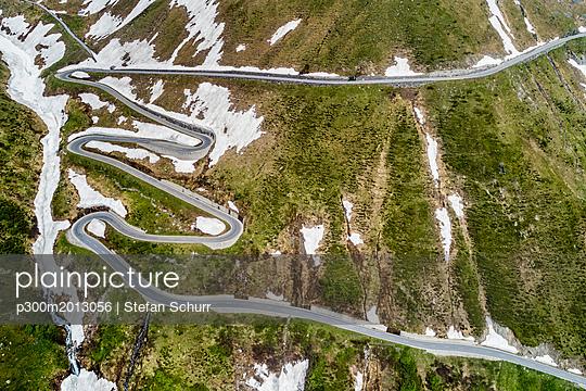 Switzerland, Valais, Nufenen Pass - p300m2013056 von Stefan Schurr