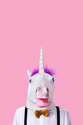 Unicorn masquerade - p1423m2054302 by JUAN MOYANO