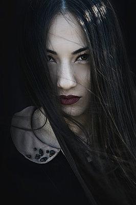 Portrait - p1445m1510737 by Eugenia Kyriakopoulou