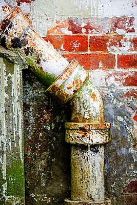 Old drain pipe. - p343m1554706 by Ron Koeberer