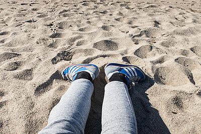 Entspannen am Strand - p930m1222005 von Phillip Gätz