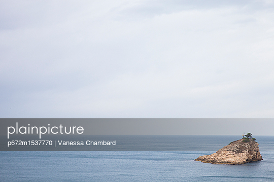 the small Island - p672m1537770 by Vanessa Chambard