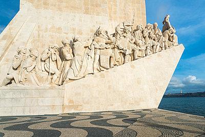 Portugal, Lisbon, Monument,  Padrao dos Descobrimentos - p1332m2197120 by Tamboly