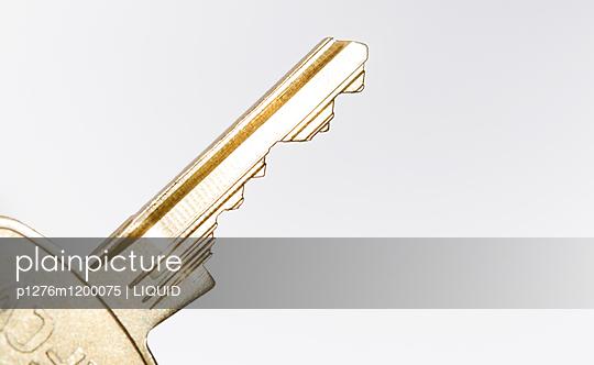 Schlüssel Nahaufnahme - p1276m1200075 von LIQUID