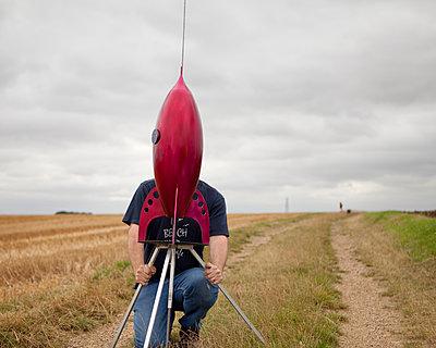 Rocket man - p1253m1077858 by Joseph Fox