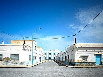 Empty street in Sidi Ifni - p2800353 by victor s. brigola