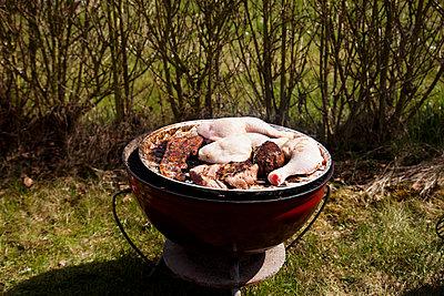 Grillfleisch - p904m793924 von Stefanie Päffgen