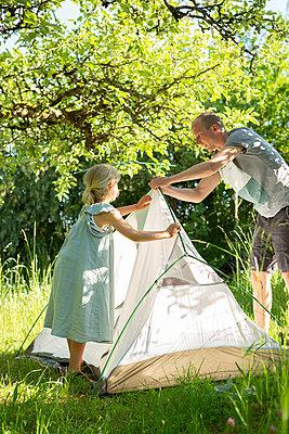 Tent set-up - p454m2200621 by Lubitz + Dorner