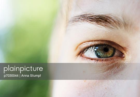 Green eye - p7030044 by Anna Stumpf
