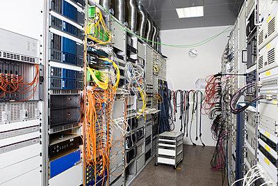 Server room - p42913642f by Carlos Hernandez