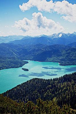 Bavarian lake; Germany - p728m815289 by Peter Nitsch