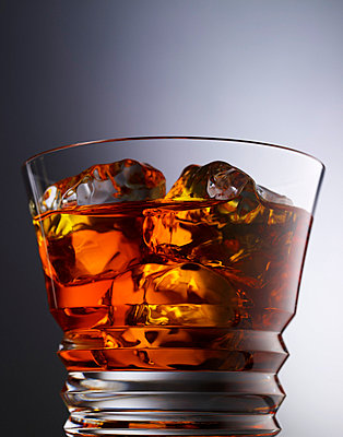 Glass filled with whiskey - p5490331 by C&P