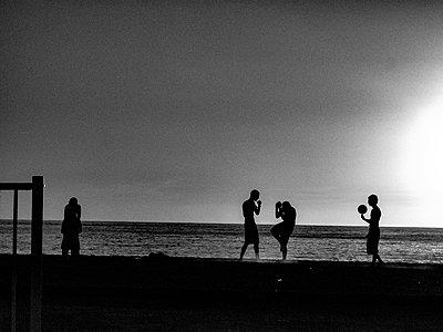 Beach - p1484m2203593 by Céline Nieszawer