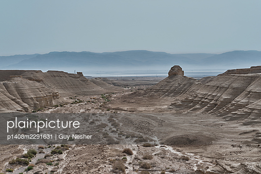 View of the Deadsea, Israel - p1408m2291631 by Guy Nesher
