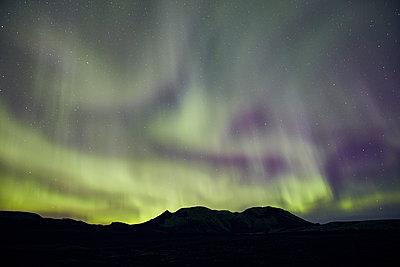 Nordlichter im Vatnajökull Nationalpark - p1305m1190695 von Hammerbacher