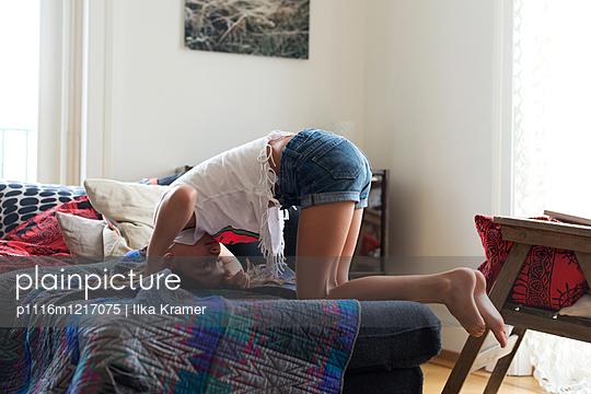 Mädchen mach Quatsch - p1116m1217075 von Ilka Kramer