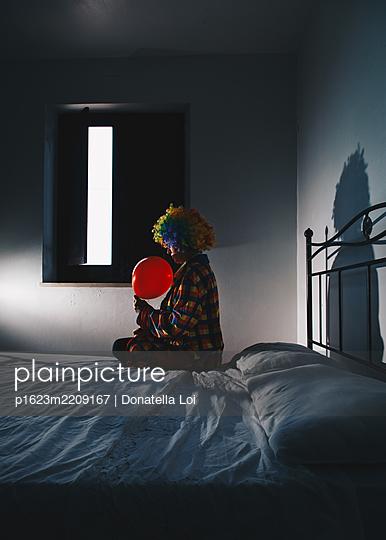 Clown's room - p1623m2209167 by Donatella Loi
