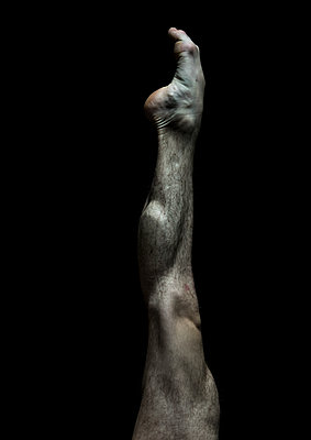 Muscular leg - p1139m2022088 by Julien Benhamou