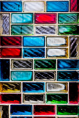 Glass blocks - p1523m2082457 by Nic Fey