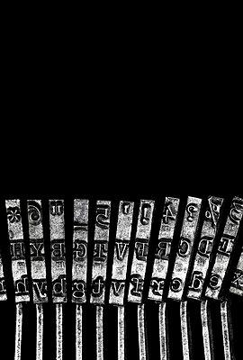 Typografie - p509m1007935 von Reiner Ohms