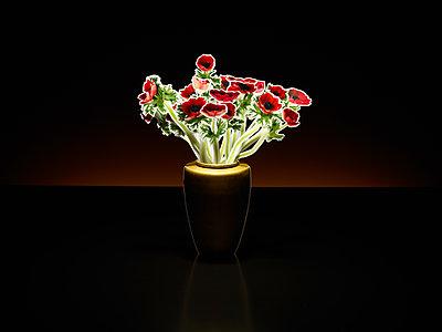 Paper flowers - p803m2285996 by Thomas Balzer