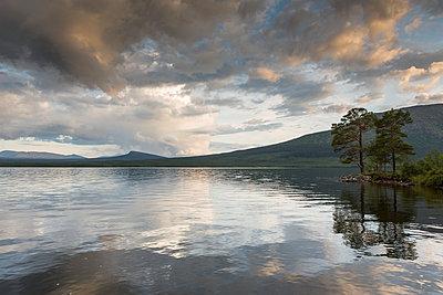 Lake in Jamtland, Sweden - p352m1536561 by Calle Artmark