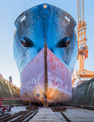 Ship repair and maintenance works - p390m2063891 by Frank Herfort