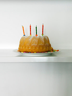 Birthday Cake - p1052m794389 by Wolfgang Ludwig