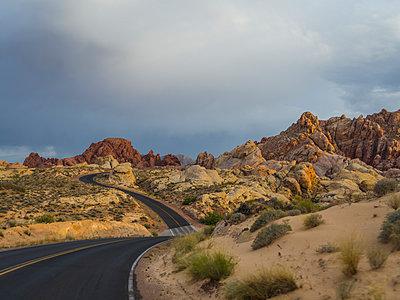 Valley of Fire, Nevada - p1232m1041168 von Moritz Schmid