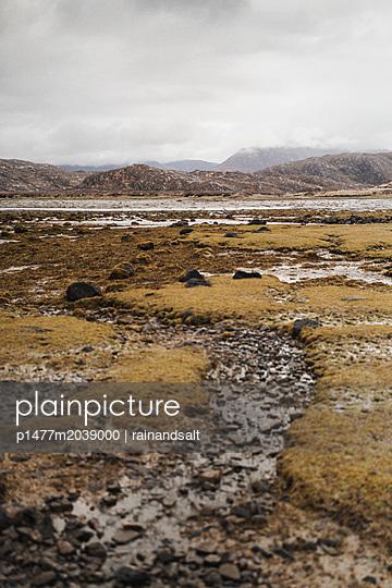 Moorlandschaft in den schottischen Highlands - p1477m2039000 von rainandsalt