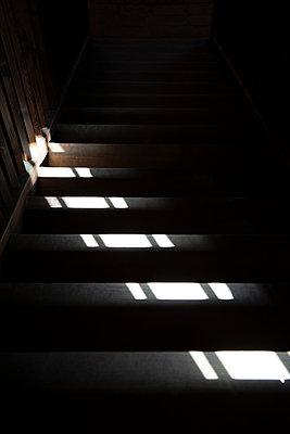 Steps at twilight - p238m1588913 by Anja Bäcker