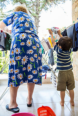 Laundry - p535m1050123 by Michelle Gibson