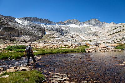 Hiker - p756m2122789 by Bénédicte Lassalle