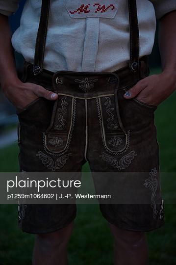 Lederhose - p1259m1064602 von J.-P. Westermann