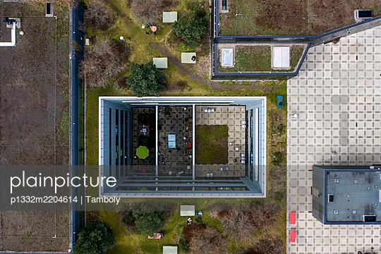 Switzerland, Zurich, Roof of the ZhDK University of arts  - p1332m2204614 by Tamboly