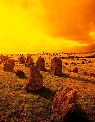 Beaghmore Stone Circles, County Tyrone, Ireland - p4425502f by Design Pics