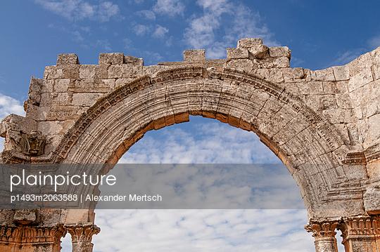 Frühbyzantinisches Kloster des Simeon, Simeonskloster, Aleppo, Syrien - p1493m2063588 von Alexander Mertsch