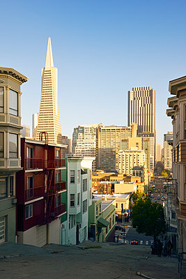 Kearny Street, 555 California Street Building - p1196m1182360 von Biederbick & Rumpf