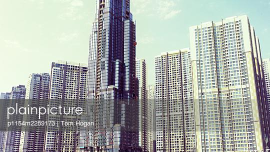 Vietnam, Ho Chi Minh City, Skyskrapers - p1154m2289173 by Tom Hogan