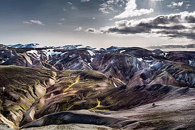 Iceland, South West, Landmannalaugar - p300m2023682 by Dirk Moll