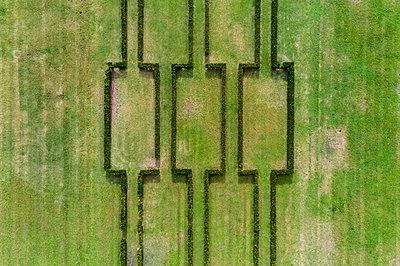 Portugal, Lissabon, Luftaufnahme, Parque Eduardo VII - p1332m2197116 von Tamboly