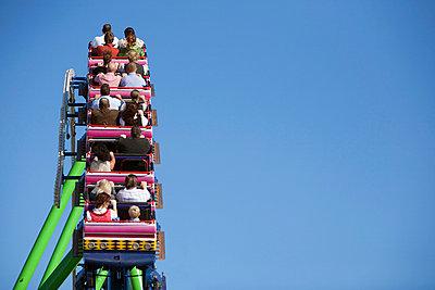 Rollercoaster at Oktoberfest, Munich, Germany - p6090475f by MONK photography