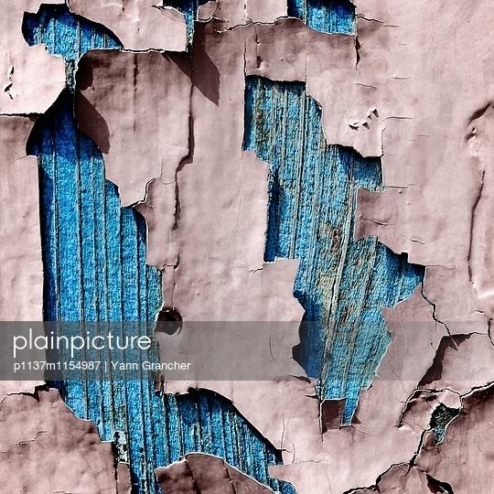 Abgeblätterte Farbe - p1137m1154987 von Yann Grancher