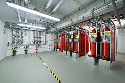 Fire extinguisher system - p429m896496f by Mischa Keijser