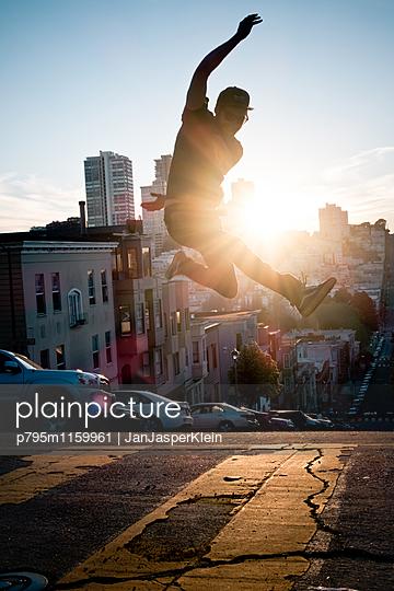 Lebensfreude in Kalifornien - p795m1159961 von Janklein