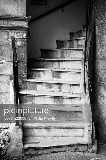 Stairs - p873m2263875 by Philip Provily