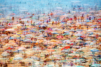 Lignano Sabbiadoro beach - Composing - p719m1104403 by Rudi Sebastian