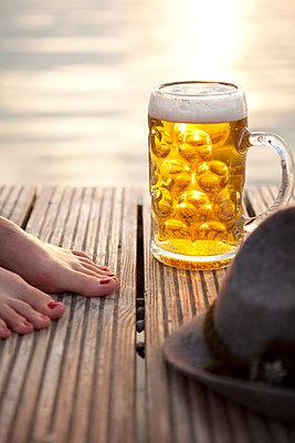 Sommerabend am See - p4541741 von Lubitz + Dorner